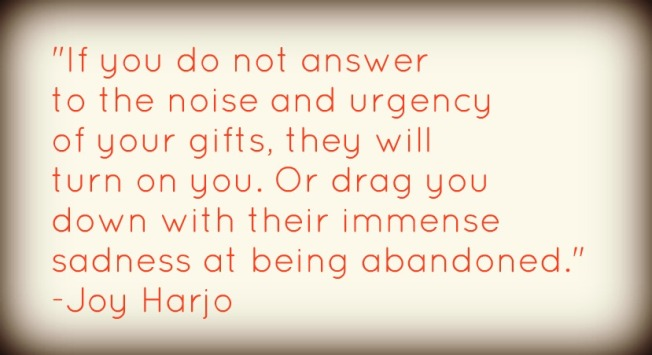 joy harjo gifts